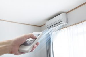 ductless-ac-blowing-cold-air
