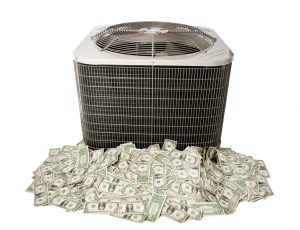 outside-ac-unit-surrounded-by-cash